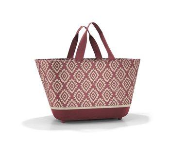 Reisenthel Shoppingbasket diamond rood