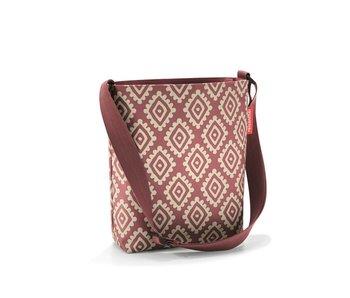 Reisenthel shoulderbag S diamonds rouge
