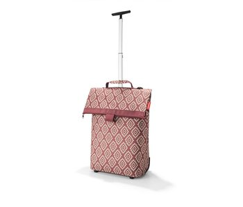 Reisenthel Trolley M diamonds rood
