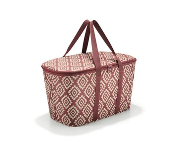 Reisenthel coolerbag diamonds rood