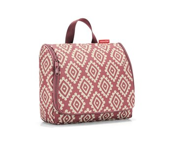 Reisenthel Toiletbag XL diamonds rood