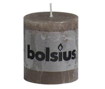 BOLSIUS STOMPKAARS 80/68 RUSTIEK TAUPE