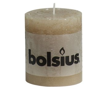 BOLSIUS STOMPKAARS 80/68 PASTELBEIGE