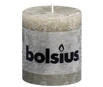 BOLSIUS STOMPKAARS 80/68 RUSTIEK KIEZELGRIJS