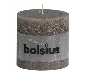 BOLSIUS STOMPKAARS 100X100 RUSTIEK TAUPE