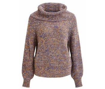 VILA Viview knit new cowlneck L/S top - medium