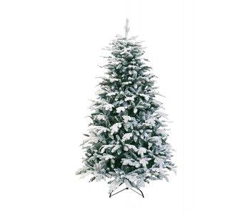 Kerstboom Oslo besneeuwd 210cm