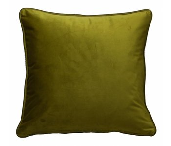 Coussin Velluto olive 45x45cm