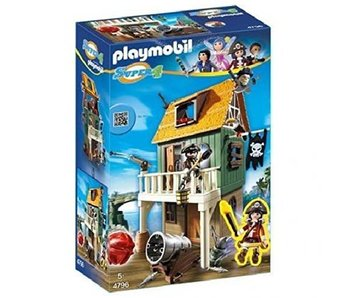 18 PLAYMOBIL 4796 CAMOUFLAGE PIRATE FORT
