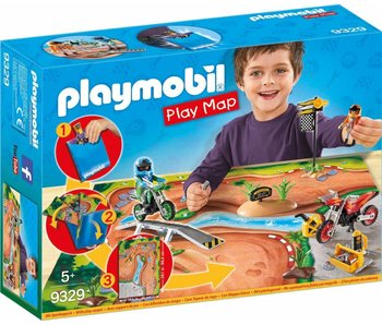 PLAYMOBIL PLAY MAP MOTO