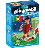 18 PLAYMOBIL 6899 JOUEUR EQUIPE PORTUGAL