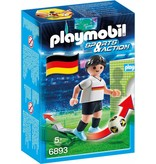 18 PLAYMOBIL 6893 JOUEUR EQUIPE ALLEMAGNE