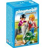 18 PLAYMOBIL 6950 PONYRIJDEN MET MAMA