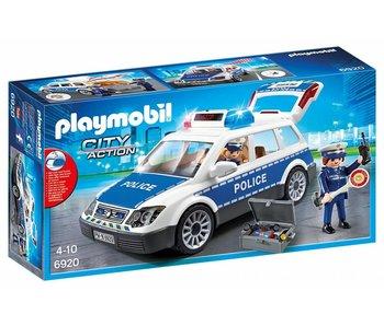 Playmobil Patrouille police avec lumière et son 6920