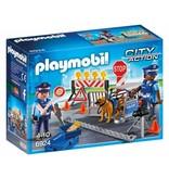 Playmobil 6924 POLITIEVERSPERRING