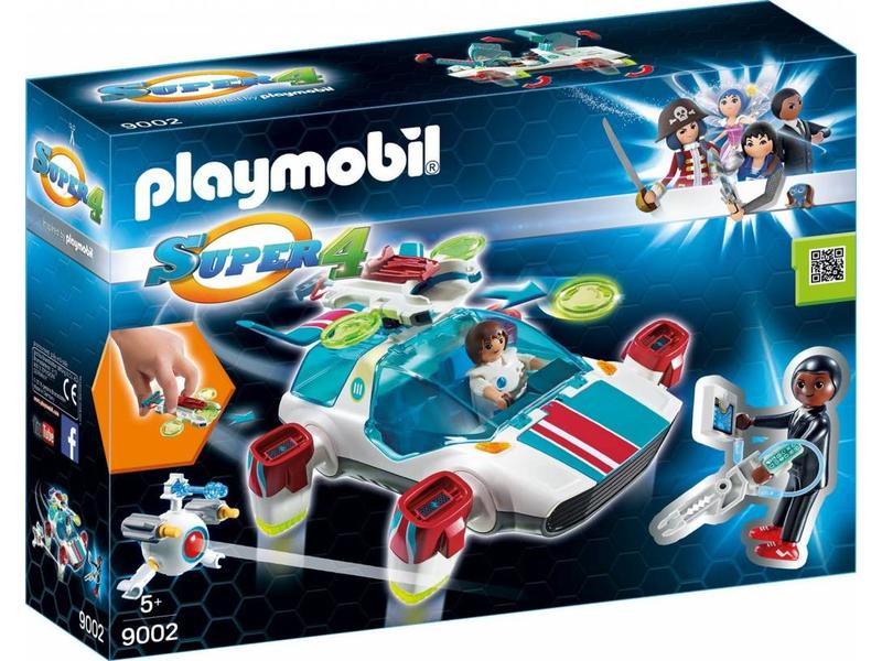 18 PLAYMOBIL 9002 FULGURIX MET GENE