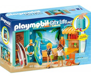 18 PLAYMOBIL 5641 SPEELBOX SURFSHOP