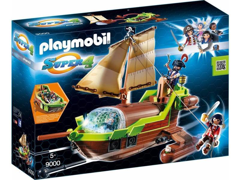PLAYMOBIL Bateau de pirate caméléon avec Ruby 9000