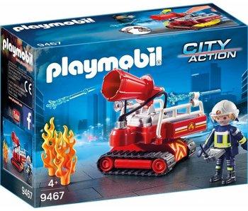 Playmobil Copy of Brandweer terreinwagen ete waterkanon