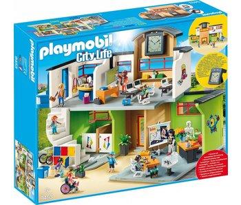 Playmobil Ecole aménagée 9453