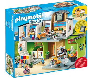 Playmobil Ingerichte school 9453