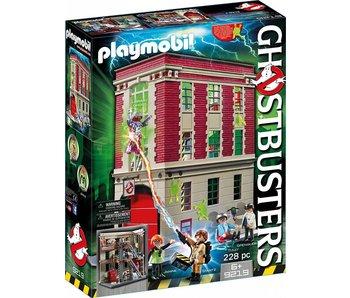 PLAYMOBIL Ghostbusters brandweerkazerne 9219