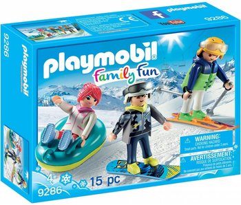 PLAYMOBIL wintersporters 9286