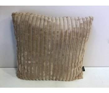 Coussin 45x45cm taupe