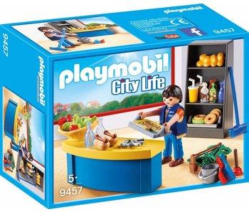 Playmobil concierge avec kiosque 9457