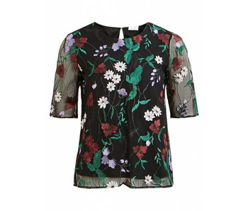 VILA Vibroda blouse | bloemenprint | small