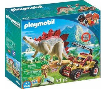 Playmobil Buggy explorateur avec Stegosaurus 9432