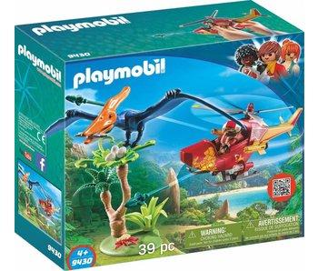 Playmobil Hélicoptère avec Pteranodon 9430