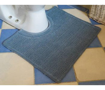 Soft Ardiatische blauw  50x40 cm