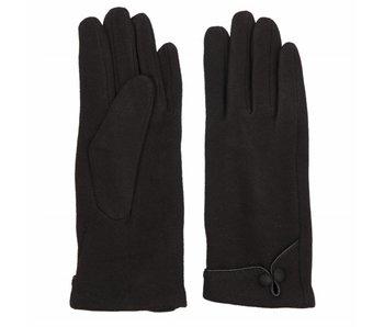 Clayre & Eef Handschoen set Elegance  zwart