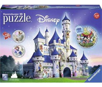 Ravensburger Disney kasteel 3D - legpuzzel