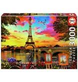 3000 coucher de soleil à Paris