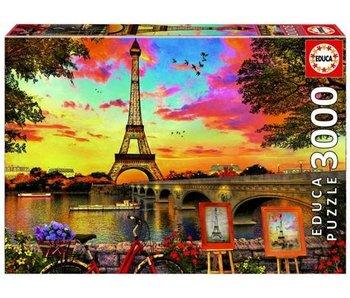 educa 3000 coucher de soleil à Paris