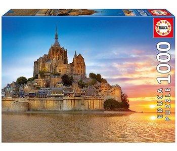 1000 Mont Saint Michel, France