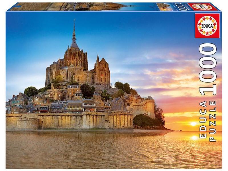 educa 1000 Mont Saint Michel, France