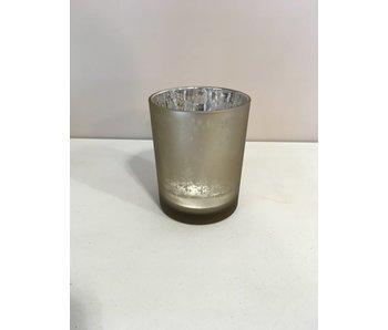 Partylight Tree silver inside mat bruin 10x12 cm
