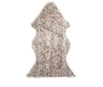 Riverdale Fleece Zigzag brown/grey 120x75cm