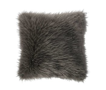 Riverdale Cushion Furry grey 50x50cm