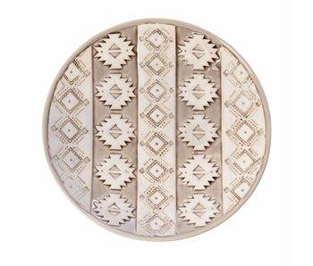 Riverdale Bowl Aztec beige 36cm