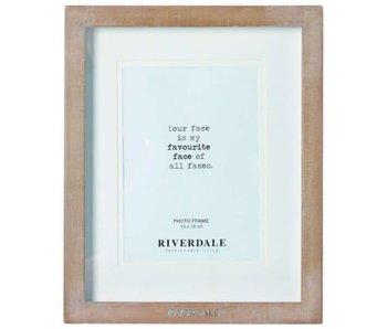 Riverdale FRAME FASHION NATURAL 13X18