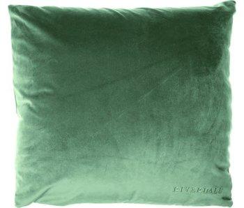 Riverdale Coussin Chelsea vert foncé 45x45cm