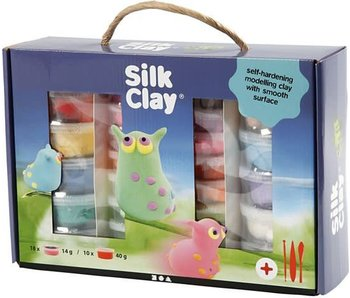 Silk Clay set, kleuren assorti, 1set