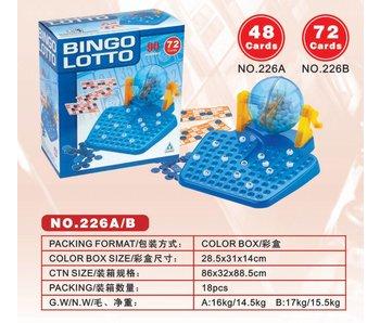 BINGO-LOTTO 72 CARDS