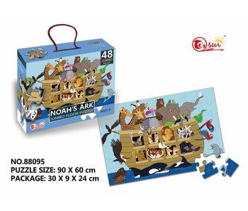 Puzzel 48 stukjes Noah's ark
