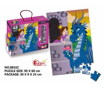 Puzzel Sprookje - 48 stukjes