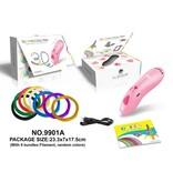 3D-pen roze met USB